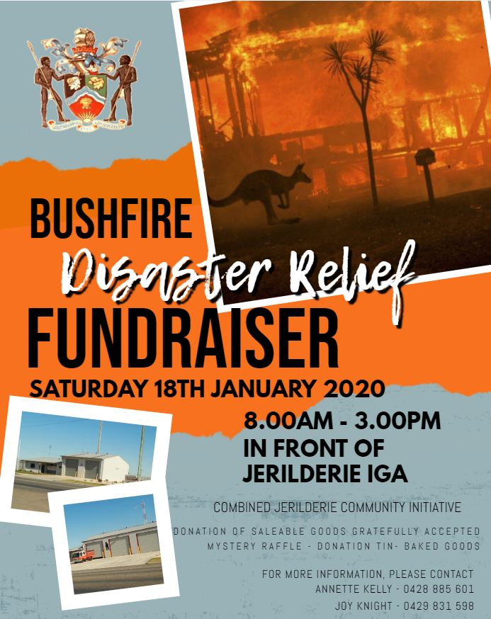 Bushfire Disaster Relief Fundraiser and Street Stall