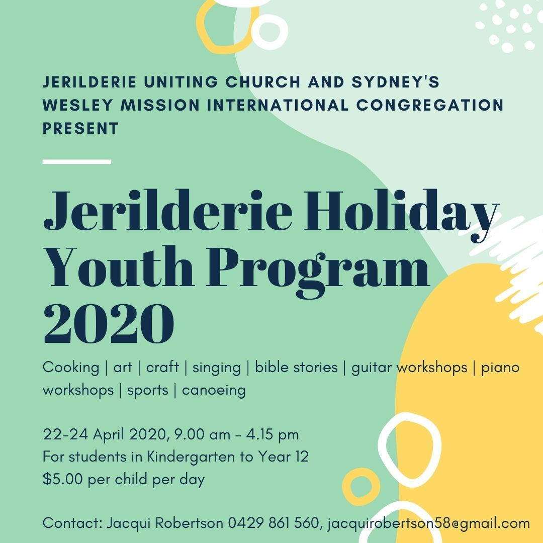 Cancelled: Jerilderie Holiday Youth Program 2020